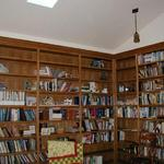 ADDED LIBRARY ROOM TO EXISTING HOME